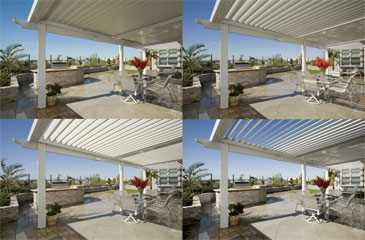 Louvered Opening Roof System Photo
