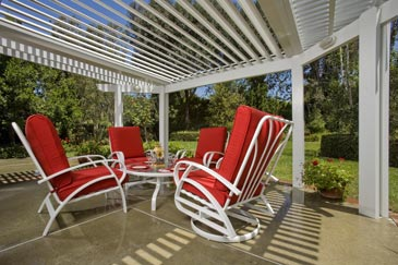 Louvered Opening Roof Systems Residential Solutions Photo