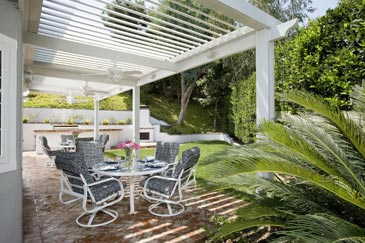 Louvered Opening Patio Roof | Opening Roof System | Opening ...